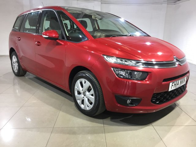 View our 2014 14 CITROEN C4 PICASSO 1.6 GRAND E-HDI AIRDREAM VTR PLUS 5d 113 BHP