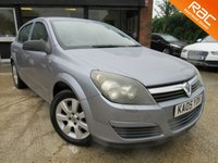 USED 2005 05 VAUXHALL ASTRA 1.6 BREEZE 16V TWINPORT 5d 100 BHP ALLOYS, AIR CONDITIONING, FULL SERVICE HISTORY, HPI CLEAR