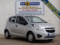 USED 2012 61 CHEVROLET SPARK 1.0 PLUS 5d 67 BHP SERVICE HISTORY 12 MTH MOT