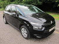 USED 2014 CITROEN C4 PICASSO 1.6 HDI VTR 5d 91 BHP FANTASTIC VALUE ONE OWNER CITROEN C4 PICASSO DIESEL WITH AIR CONDITIONING, CRUISE CONTROL, ALLOY WHEELS AND CITROEN SERVICE HISTORY