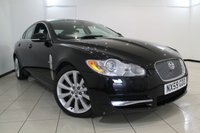 USED 2009 59 JAGUAR XF 3.0 V6 S LUXURY 4DR AUTOMATIC 275 BHP FULL JAGUAR SERVICE HISTORY + HEATED LEATHER SEATS + SAT NAVIGATION + PARKING SENSOR + BLUETOOTH + CRUISE CONTROL + MULTI FUNCTION WHEEL