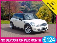 USED 2012 61 MINI HATCH COOPER 1.6 COOPER 3dr [ CHILI PACK ] PRICE CHECKED DAILY – WHY PAY MORE ??
