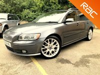 2006 VOLVO V50 2.4 SPORT 5d AUTO 170 BHP ESTATE, R-DESIGN STYLE ALLOYS ONLY 76K £4295.00