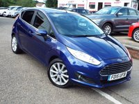 USED 2015 15 FORD FIESTA 1.5 TITANIUM TDCI 5d 74 BHP ONE Owner ZERO Rate Road Tax