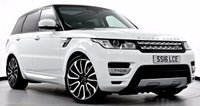 "USED 2016 16 LAND ROVER RANGE ROVER SPORT 3.0 SD V6 HSE Station Wagon 4x4 5dr (start/stop) Pan Roof, 22"" Alloys, Privacy"