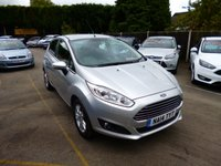 USED 2014 14 FORD FIESTA 1.2 ZETEC 5d 81 BHP THIS VEHICLE IS AT SITE 1 - TO VIEW CALL US ON 01903 892224