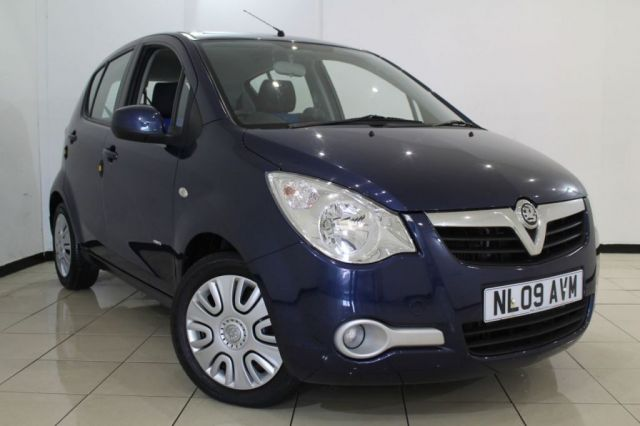 View our 2009 09 VAUXHALL AGILA 1.2 CLUB AC 5DR 75 BHP