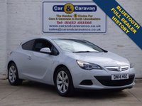 USED 2014 14 VAUXHALL ASTRA 1.4 GTC SPORT S/S 3d 138 BHP Full Dealer History 0% Deposit Finance Available