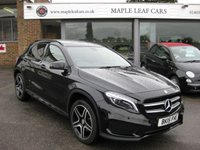 USED 2015 15 MERCEDES-BENZ GLA-CLASS 2.1 GLA200 CDI AMG LINE PREMIUM PLUS 5d AUTO 136 BHP Panoramic sunroof. Navigation. Bluetooth. AMG alloys. +++