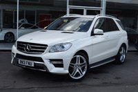 USED 2013 13 MERCEDES-BENZ M CLASS 3.0 ML350 BLUETEC SPORT 5d AUTO 258 BHP
