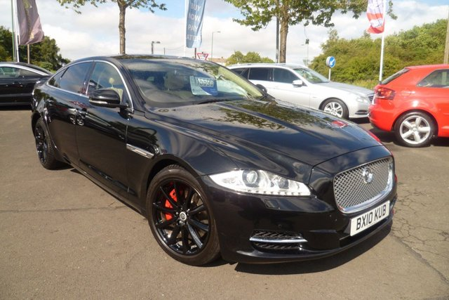 2010 10 JAGUAR XJ 3.0 D V6 LUXURY LWB 4d 275 BHP
