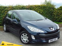 USED 2010 10 PEUGEOT 308 1.4 S 5d 94 BHP 128 POINT AA INSPECTED & 12 MONTHS FREE AA MEMBERSHIP