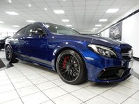 USED 2016 66 MERCEDES-BENZ C CLASS 4.0 C 63 AMG S EDITION 1 SPEEDSHIFT MCT FRONT END STONE PROTECTION