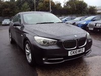 USED 2010 10 BMW 5 SERIES 3.0 530D SE GRAN TURISMO 5d AUTO 242BHP SATNAV+LEATHER+BLUETOOTH+MEDIA