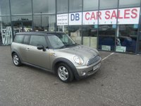USED 2008 57 MINI CLUBMAN 1.6 COOPER 5d 118 BHP £0 DEPOSIT, LOW RATE FINANCE ANYONE, DRIVE AWAY TODAY!!