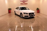 USED 2011 Y AUDI A4 2.0 TDI SE 4d 134 BHP + 2 PREV OWNERS + SERVICE HISTORY +