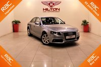 USED 2011 11 AUDI A4 2.0 TDI SE 4d AUTO 141 BHP + 1 PREV OWNER + SERVICE HISTORY + RAC APPROVED DEALER