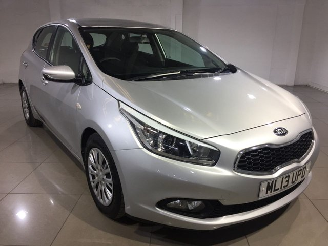 View our 2013 13 KIA CEED 1.4 CRDI 1 5d 89 BHP