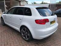 USED 2011 61 AUDI A3 2.0 SPORTBACK TDI S LINE SPECIAL EDITION 5d 138 BHP Free MOT for Life