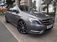 USED 2014 14 MERCEDES-BENZ B CLASS 1.5 B180 CDI BLUEEFFICIENCY SPORT 5d AUTO 107 BHP 1 OWNER FROM NEW £ 30 ROAD TAX AUTOMATIC & PADDLE SHIFT FULL BLACK LEATHER BLUETOOTH PHONE AIR/CON PRIVACY GLASS *** FINANCE & PART EXCHANGE WELCOME ***