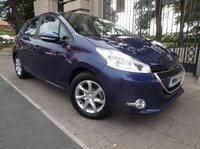 USED 2014 14 PEUGEOT 208 1.4 ACTIVE HDI 5dr 68 BHP *** FINANCE & PART EXCHANGE WELCOME *** 1 OWNER FROM NEW ONLY 772 MILES BLUETOOTH PHONE AIR/CON CRUISE CONTROL