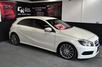 2013 MERCEDES-BENZ A CLASS 1.8 A200 CDI BLUEEFFICIENCY AMG SPORT 5d 136 BHP £13500.00