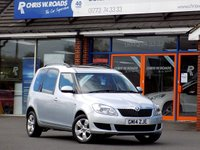 USED 2014 14 SKODA ROOMSTER 1.2 SE TSI 5d 85 BHP *ONLY 9.9% APR with FREE Servicing*