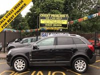 USED 2012 62 VAUXHALL ANTARA 2.2 EXCLUSIV CDTI 4WD 5d AUTO 161 BHP STUNNING SAPPHIRE METALLIC BLACK, 2 OWNERS, SERVICE HISTORY, GREAT VALUE, BLACK HALF ARTICO LEATHER CLOTH TRIM, ALLOY WHEELS, CRUISE CONTROL, AIR CON, ALLOY WHEELS, FRONT AND REAR PARKING SENSORS,