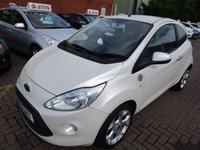 USED 2010 60 FORD KA 1.2 TATTOO 3d 69 BHP 2 OWNERS SERVICE HISTORY