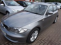 USED 2009 59 BMW 1 SERIES 2.0 118D SE 5d AUTO 141 BHP 2 OWNERS FULL SERVICE HISTORY