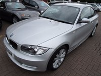 USED 2008 S BMW 1 SERIES 2.0 120D SE 2d 175 BHP FULL HISTORY FULL LEATHER