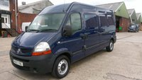 2007 RENAULT MASTER 2.5 LM35 LWB L/C 1d 100 BHP NO VAT TO ADD OLD PART X VAN ///////// £2595.00