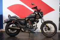 USED 2017 17 SINNIS HOODLUM 125 MATT BLACK ***VERY LOW MILEAGE***