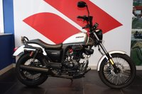 USED 2017 17 SINNIS HOODLUM 125 SILVER ***ONLY 87 KM FROM NEW***