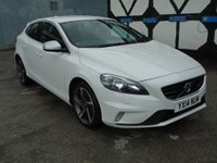 USED 2014 14 VOLVO V40 2.0 TD D3 R-Design Geartronic 5dr (start/stop) LOW TAX BAND WINTER PACK