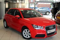 USED 2012 62 AUDI A1 1.6 SPORTBACK TDI SE 5d 105 BHP FULL SERVICE HISTORY + FREE ROAD TAX + UP TO 72 MPG + 16 INCH ALLOYS + AIR CONDITIONING + ELECTRIC WINDOWS
