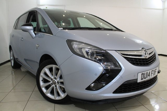 View our 2014 14 VAUXHALL ZAFIRA TOURER 2.0 ELITE CDTI 5DR 162 BHP