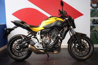 View our YAMAHA MT-07