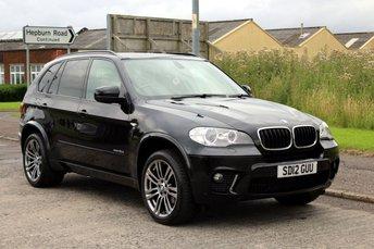 2012 BMW X5 3.0 XDRIVE30D M SPORT 5d AUTO £22990.00