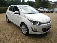 USED 2014 14 HYUNDAI I20 1.4 ACTIVE 5d AUTO 99 BHP Bluetooth. Hyundai Warranty. Alloy Wheels