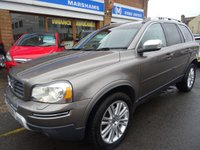 USED 2011 11 VOLVO XC90 2.4 D5 EXECUTIVE 7 SEATER AWD 5d AUTO 197 BHP  OYSTER GREY PEARL/GREY LEATHER