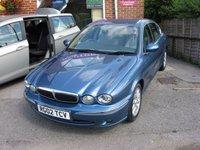 2002 JAGUAR X-TYPE 2.5 V6 SE 4d AUTO 195 BHP £2795.00