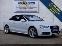 USED 2014 14 AUDI A5 2.0 TDI S LINE SPECIAL EDITION 2d 177 BHP Full Dealer History One Owner Over £4000 Worth Of Extras Sat Nav