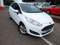 USED 2014 64 FORD FIESTA 1.2 ZETEC 5d 81 BHP Low Mileage Only 13,000 Miles!!!