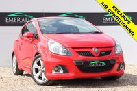 "USED 2007 57 VAUXHALL CORSA 1.6 VXR 3d 192 BHP **£0 DEPOSIT FINANCE AVAILABLE**SECURE WITH A £99 FULLY REFUNDABLE DEPOSIT** HALF LEATHER RECARO'S, CRUISE CONTROL, AIR CONDITIONING, CD30MP3, ELECTRIC WINDOWS, PRIVACY GLASS, 17"" ALLOY WHEELS"