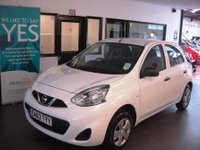 USED 2013 63 NISSAN MICRA 1.2 VISIA 5d 79 BHP One owner, Just serviced and July 2018 advisory free Mot. Fitted with Bluetooth.