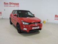 USED 2017 17 SSANGYONG TIVOLI 1.6 ELX 5d AUTO 113 BHP