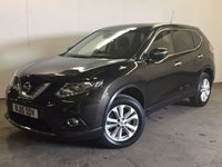 USED 2015 15 NISSAN X-TRAIL 1.6 DCI ACENTA 5d 130 BHP 7 SEATER SAT NAV PAN ROOF ONE OWNER 7 SEATER. SATELLITE NAVIGATION. PANORAMIC SUNROOF. NEW SHAPE. STUNNING GREEN MET BLACK CLOTH TRIM. CRUISE CONTROL. 17 INCH ALLOYS. COLOUR CODED TRIMS. PRIVACY GLASS. PARKING SENSORS. REVERSING CAMERA. BLUETOOTH PREP. AIR CON. R/CD PLAYER. 6 SPEED MANUAL. MFSW. ONE OWNER. FCA FINANCE APPROVED DEALER. TEL 01937 849492