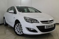USED 2014 14 VAUXHALL ASTRA 2.0 ELITE CDTI 5DR AUTOMATIC 163 BHP FULL VAUXHALL SERVICE HISTORY + HEATED LEATHER + CLIMATE CONTROL + PARKING SENSOR + CRUISE CONTROL + MULTI FUNCTION WHEEL + ALLOY WHEELS
