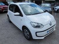2015 VOLKSWAGEN UP 1.0 MOVE UP 5d 59 BHP 1 OWNER + £20 TAX + SUPER MPG ! £5999.00